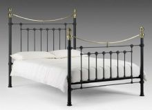 Black Vivienne Single Bed
